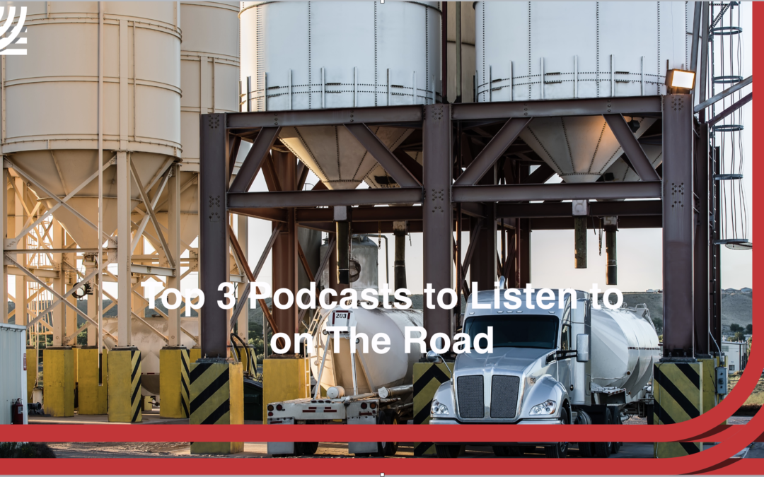 Top 3 Podcasts To Listen to on the Road