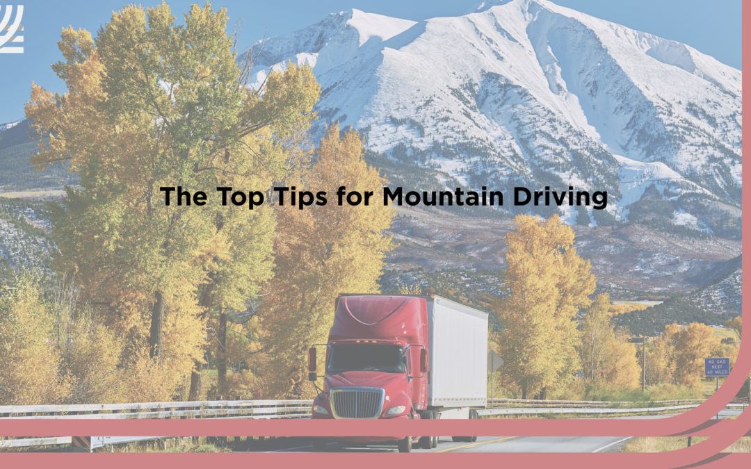 Safe driving in the mountains