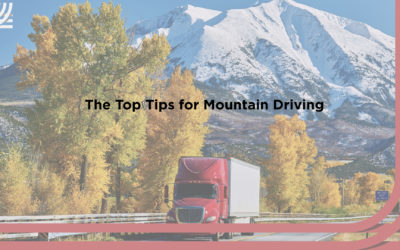 The Top Tips for Mountain Driving