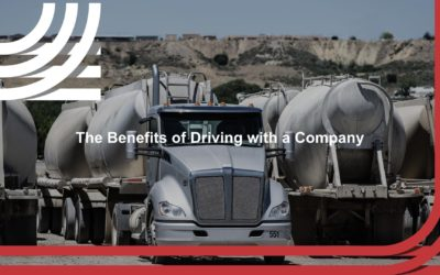 The Benefits of Driving With a Company