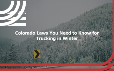 Colorado Laws You Need to Know for Trucking in Winter